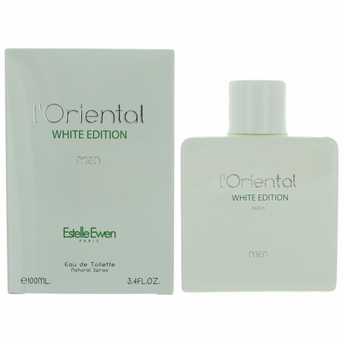 L'Oriental White Edition by Estelle Ewen, 3.4 oz Eau De Toilette Spray for Men