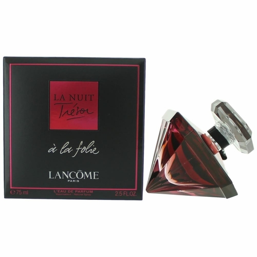 La Nuit Tresor A La Folie by Lancome, 2.5 oz L'Eau De Parfum Spray for Women