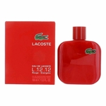 Lacoste L.12.12 Rouge by Lacoste, 3.3 oz Eau de Toilette Spray for Men