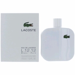 Lacoste L.12.12 White Blanc by Lacoste, 5.9 oz Eau De Toilette Spray for Men