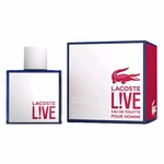 Lacoste Live by Lacoste, 3.4 oz Eau De Toilette Spray for Men