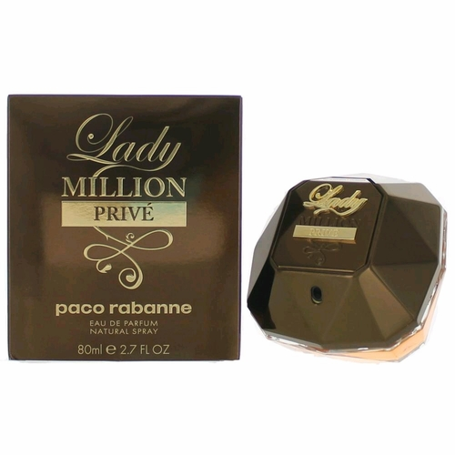 Lady Million Prive by Paco Rabanne, 2.7 oz Eau De Parfum Spray for Women