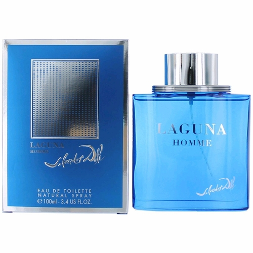 Laguna Homme by Salvador Dali, 3.4 oz Eau De Toilette Spray for Men