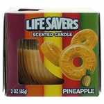 Life Savers Scented Candle 3 oz Jar - Pineapple