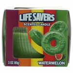 Life Savers Scented Candle 3 oz Jar - Watermelon