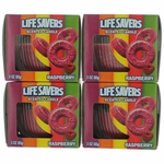 Life Savers Scented Candle 4 Pack of 3 oz Jars - Raspberry