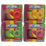 Life Savers Scented Candle 4 Pack of 3 oz Jars - Variety