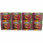 Life Savers Scented Candle 8 Pack of 3 oz Jars- Raspberry