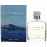 Light Blue Discover Vulcano by Dolce & Gabbana, 4.2 oz Eau De Toilette Spray for Men