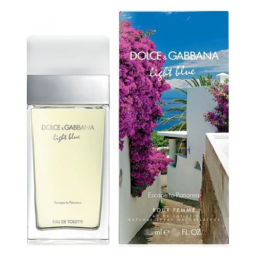 Light Blue Escape to Panarea by Dolce & Gabbana, 3.3 oz Eau De Toilette Spray for Women