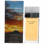 Light Blue Sunset In Salina by Dolce & Gabbana, 3.3 oz Eau De Toilette Spray for Women