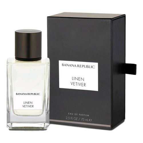 Linen Vetiver by Banana Republic, 2.5 oz Eau De Parfum Spray for Unisex