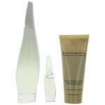 Liquid Cashmere White by Donna Karan, 3 Piece Gift Set for Women