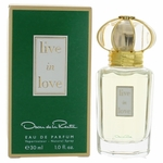 Live in Love by Oscar De La Renta, 1 oz Eau De Parfum Spray for Women