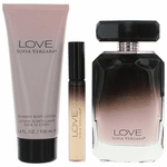 Love by Sofia Vergara, 3 Piece Gift Set for Women