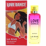 Love Dance by La Rive, 3 oz Eau De Parfum Spray for Women