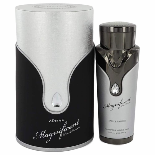 Magnificent Pour Homme by Armaf, 3.4 oz Eau De Parfum Spray for Men