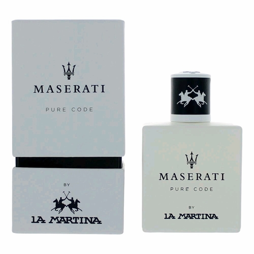 Maserati Pure Code by La Martina, 3.4 oz Eau De Toilette Spray for Men