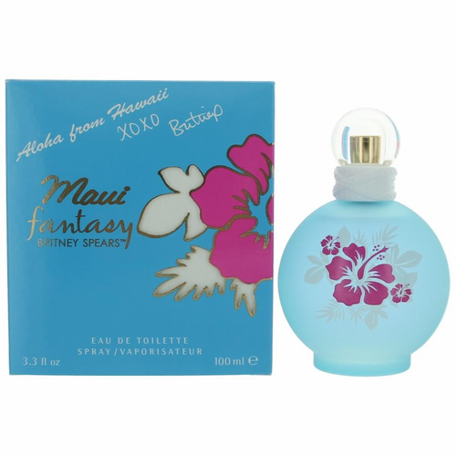 Maui Fantasy by Britney Spears, 3.3 oz Eau De Toilette Spray for Women
