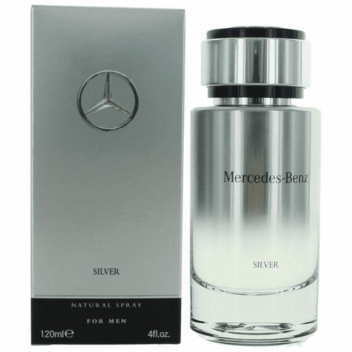 Mercedes Benz Silver by Mercedes Benz, 4 oz Eau De Toilette Spray for Men