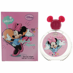 Minnie Mouse by Disney, 3.4 oz Eau De Toilette Spray for Girls (Pink)