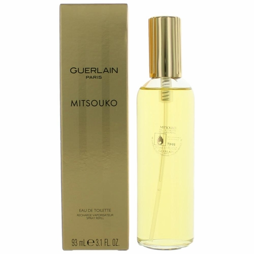 Mitsouko by Guerlain, 3.1 oz Eau De Toilette Refill Spray for Women