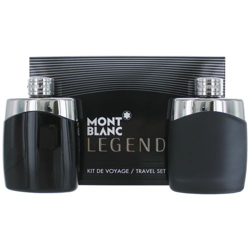 Mont Blanc Legend by Mont Blanc, 2 Piece Gift Set for Men