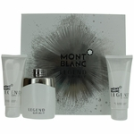 Mont Blanc Legend Spirit by Mont Blanc, 3 Piece Gift Set for Men