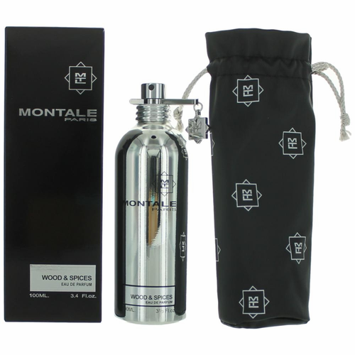 Montale Wood & Spices by Montale, 3.4 oz Eau De Parfum Spray for Men