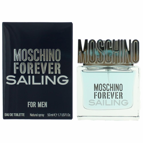 Moschino Forever Sailing by Moschino, 1.7 oz Eau De Toilette Spray for Men