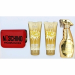 Moschino Gold Fresh Couture by Moschino, 4 Piece Gift Set for Women