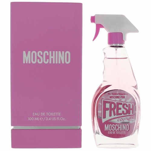 Moschino Pink Fresh Couture by Moschino, 3.4 oz Eau De Toilette Spray for Women