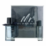 Mr. Burberry Indigo by Burberry, 2 Piece Gift Set for Men