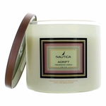 Nautica 14.5 oz Soy Wax Blend 3 Wick Candle - Adrift
