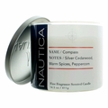 Nautica 14.5 oz Soy Wax Blend 3 Wick Candle - Compass