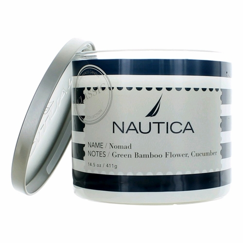 Nautica 14.5 oz Soy Wax Blend 3 Wick Candle - Nomad