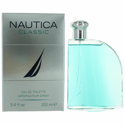 Nautica Classic by Nautica, 3.4 oz Eau De Toilette Spray for Men