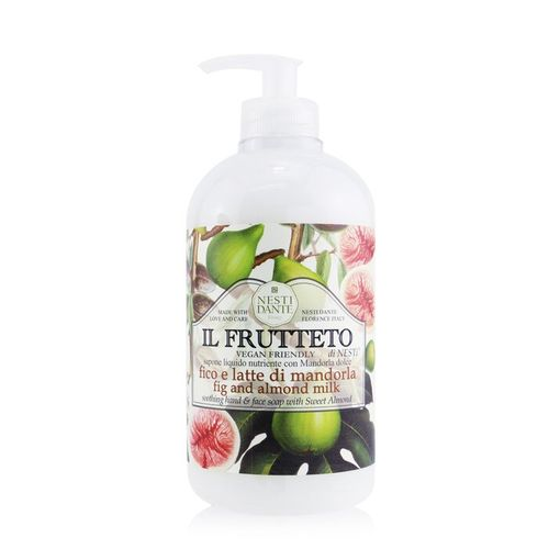 Nesti Dante Il Frutteto Soothing Hand & Face Soap With Sweet Almond - Fig And Almond Milk  500ml/16.9oz