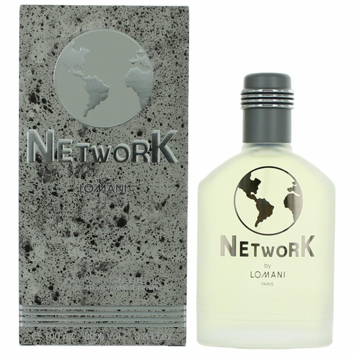 Network by Lomani, 3.3 oz Eau De Toilette Spray for Men