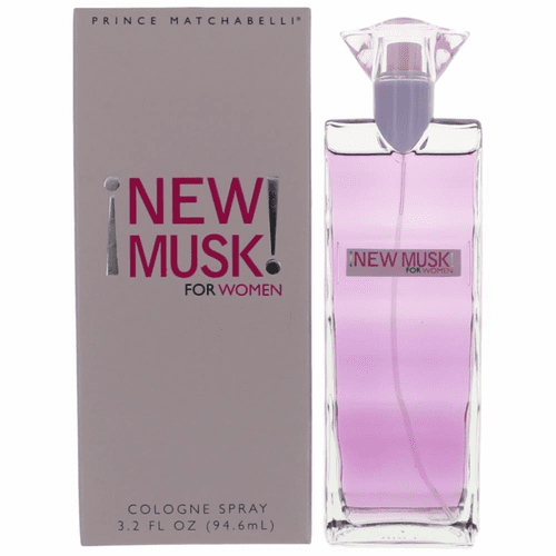 New Musk by Prince Matchabelli, 3.2 oz Cologne Spray for Women