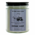 New York Candle 9 oz Highly Scented Soy Candle - Cotton Clean