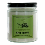 New York Candle 9 oz Highly Scented Soy Candle - Kiwi Melon