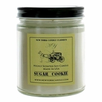New York Candle 9 oz Highly Scented Soy Candle - Sugar Cookie