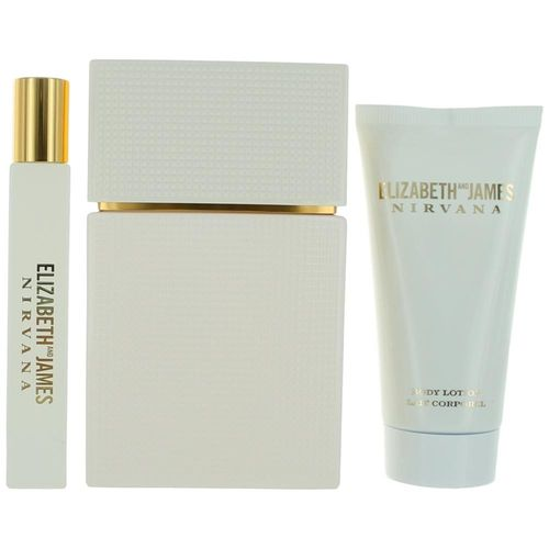 Nirvana White by Elizabeth And James, 3 Piece Gift Set for Women