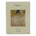 Obsession by Calvin Klein, 0.5 oz Eau De Toilette Splash, Not a Spray for Men