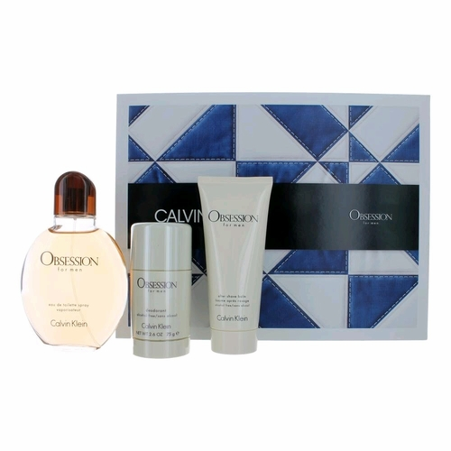 Obsession by Calvin Klein, 3 Piece Gift Set for Men