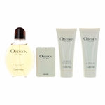 Obsession by Calvin Klein, 4 Piece Gift Set for Men