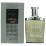Official by New Brand, 3.3 oz Eau De Toilette Spray for Men