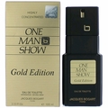 One Man Show Gold Edition by Jacques Bogart, 3.3 oz Eau De Toilette Spray for Men