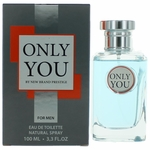 Only You by New Brand, 3.4 oz Eau De Toilette Spray for Men